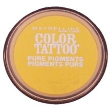 Set Of 9 Maybelline Color Tattoo Pure Pigments Eyeshadows 25 Wild Gold