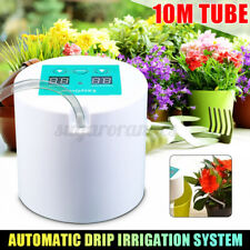 Auto Micro Drip Irrigation System Sprinkler Timer Plant Self Watering 5-10 pots
