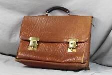 Ivoli Vintage Ledertasche Kinder Schulranzen Aktentasche Laptop Tasche   /S200