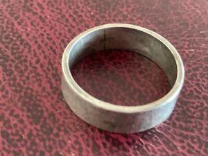 SILVER HALLMARKED vintage WEDDING BAND RING SIZE W 21mm diameter