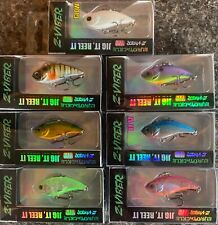Eurotackle Z-Viber ICE TROUT CRAPPIE  Lipless Jig Crankbait 1.6 in 1/8 oz CHOOSE