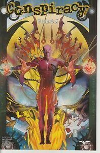 Conspiracy Planet X Cover B Zenescope Comic NM Vitorino