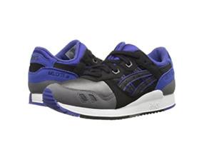 ASICS C5A4N.9090 GEL-LYTE III GS Jr´s (M) Black/Black Suede/Mesh Running Shoes