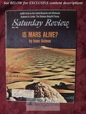 Saturday Review Magazine May 1 1976 MARS ISAAC ASIMIOV JACQUES-YVES COUSTEAU