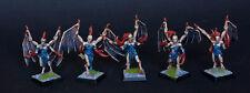Dark Elf Harpies or Daemonettes #2 Pro Painted    warhammer  Age of Sigmar