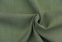 LUXURIOUS PURE WOOL MID GREY MICRO CHECK WEAVE FINE TAILORING MADE IN ITALY E48