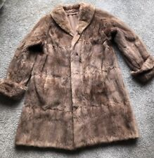 Vintage Honey Light Brown fur coat