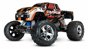 Traxxas Stampede Orange 1/10 RTR Monster Truck Brushed Monstertruck 36054-1