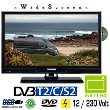 Telefunken L20H270K4DV LED TV 20 Zoll DVB/S/S2/T/T2/C, DVD, USB, 230 / 12 Volt