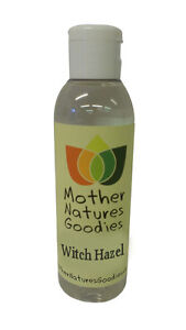 Witch Hazel - With or Free From Alcohol - Distilled Hydrosol Astrongent Toner