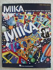 Mika Boy who Knew Too Much 12 Songs Voice Piano Guitar Unmarked
