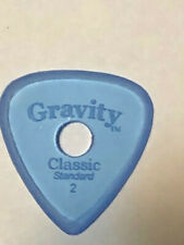 Gravity Classic Standard Master Finish Guitar Pick 2.0mm with Round Grip Hole