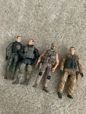 BlueBox Elite Force Soldier Lot of 4 2004 Free Shipping Loose