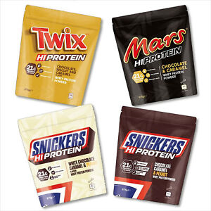 25,47€/kg Mars Protein - Mars / Snickers / Twix Hi Protein Pulver 875 g Eiweiß