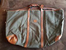 Longchamp Canavas Travel Bag pre-owned