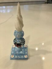 Patricia Breen Light Blue Christmas Ornament