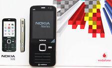 Nokia N78 Schwarz Tasten Telefon 3,2 Megapixel Kamera frei für alle Karten NEU