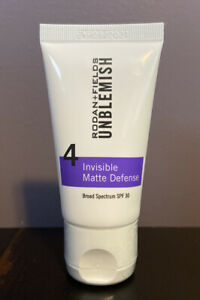 Rodan + Fields Unblemish 4 Invisible Matte Defense SPF30 New, Sealed! Exp 8/2022