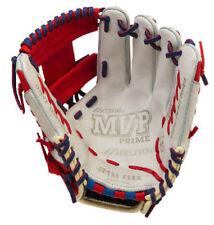 """Mizuno GMVP1154PSE4 RHT Silver/Red/Royal 11.5"""" MVP Prime Special Baseball Glove"""