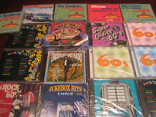 THE 60'S ROCK UNDERGROUND 430+ HITS 27 CDS STEPPENWOLF YARDBIRDS  ZOMBIES BYRDS