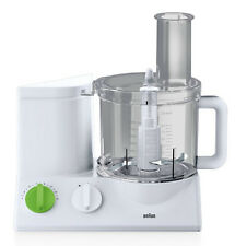 Braun FP 3010 Tribute Collection Food Processor White