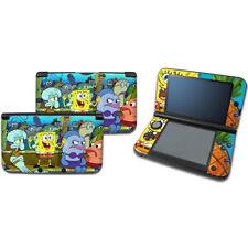 SpongeBob 8 Vinyl Decal Sticker case Cover For original Nintendo 3DS XL LL Skins