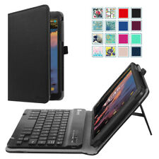 For T-Mobile Alcatel 3T 8-inch Tablet 2018 Case Cover with Bluetooth Keyboard