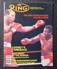 1985 Jan THE RING Boxing Magazine FVF 7.0 Larry Holmes