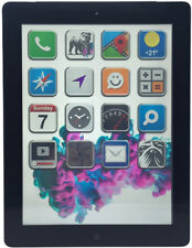 Apple iPad 4 Retina 32GB Black/Schwarz Wi-Fi 3G 4G LTE Cellular Tablet (N13749)