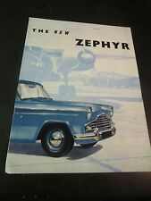 Original 1960 Ford Zephyr Sales Brochure