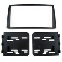 Car Stereo Radio Fascia Dash Panel Trim Kit 2 Din Frame For Kia Soul 08-11