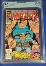 New Mutants # 88 CBCS 9.6 2nd app Cable white pages not cgc