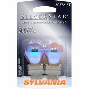Sylvania Silverstar 3057AST BP Amber Brake Light Blister Pack- Pair