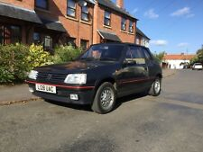 Peugeot 205 CTI GTI 1.9 '93 Steel Grey electric roof excellent collector quality