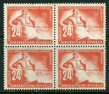 GERMANIA - DDR - 1950 - 750° anniversario delle miniere di rame di Mansfeld - 24
