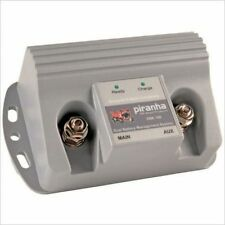 PIRANHA DBE140 DUAL BATTERY ELEC MICROPROCESSOR CONTROLLED VOLT SENSING ISOLATOR
