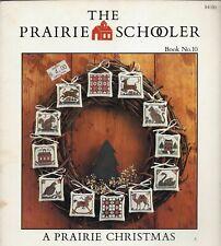 A Prairie Christmas ~ The Prairie Schooler - Book 10 cross stitch leaflet