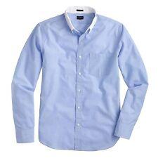 J. Crew Slim secreto lavado de Superdry de cuello blanco en algodón de extremo final en azul-medio