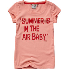 Vingino Jeans Mädchen T-Shirt Gr. 16 / 176 Baumwolle Neu Peach Pink Sommer
