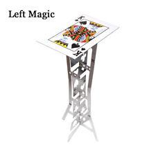 Aluminum Magic Folding Table (Alloy)- Silver Color Magic Tricks Magician Props