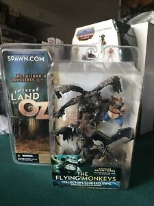 twisted land of oz flying monkeys mcfarlane