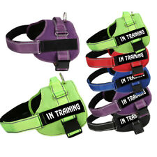 Reflective Dog Pet Service Vest Harness Adjustable Emotional Therapy Dog Patches