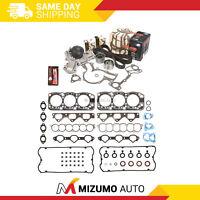 Head Gasket Set Timing Belt Kit Water Pump Fit 94-96 Mitsubishi Montero 6G74