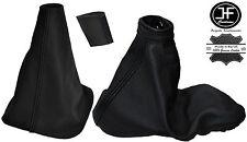Engranaje Costura Negra Cubierta de Perilla de freno de mano 6 velocidades para Renault Laguna II 01-07