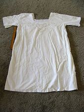 Intricate VTG Night Gown Scalloped Edge Trim- Very Old!!! Theatre Costume, NICE!