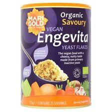 Nutritional Yeast Flakes Marigold Engevita Organic 125g Vegan Non Fortified GF