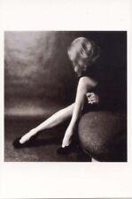 Marlene Dietrich postcard - size 15x10 cm.aprox. - Fotofolio edition Mint