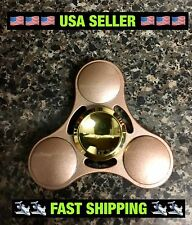 2017 NEW Rose Gold Metal EDC Fidget Spinner High Quality🇺🇸🇺🇸USA Seller