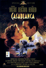 Casablanca (1942) original video poster reissue 1998 - single-sided - rolled