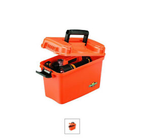 flambeau marine box  (Orange, 15.125x7.875x10.125-Inch) water proof